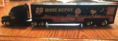 Home Depot Halloween RACE Car Carrier 18 wheeler Semi Truck Hauler 2002 Action