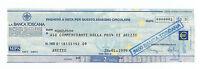 Miniaassegno In Euro Anno 1999 -  - ebay.it
