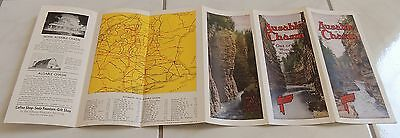vintage AUSABLE CHASM New York brochure color photos 1930s