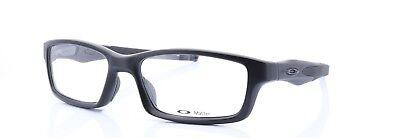 Oakley RX Eyeglasses OX8027-0553 Crosslink Satin Black Frame [53-17-140]