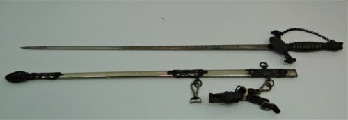 Knights of Pythias Fraternal Sword by Ames Sword Co., Chicopee, Mass.