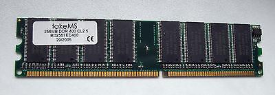 takeMS 256MB DDR 400 CL 2,5 BD256TEC400