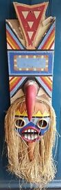 One of a Kind Hand Made & Painted 1970s French Fairground Prop. Folk Art/Kitsch/Circus