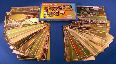 Forbes Field Memories and Pittsburgh Pirates set of 24 full color postcards.