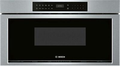 """Bosch 800 Series 30"""" 1.2 cu. ft 950W Touch Control Microwave Drawer HMD8053UC"""