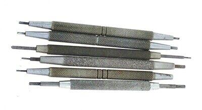 4 1/2 Vintage UNBRANDED Watchmakers POCKET WATCH STEM WIND Bench keys watch tool