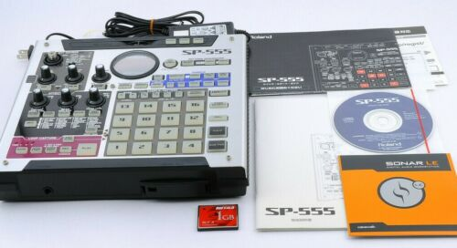 Roland SP-555 SP555 Creative Sampler w/ 1GB CF card, AC adapter, Manuals M030