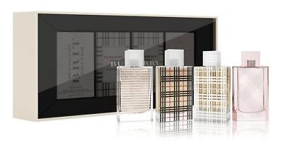 Burberry Brit Perfume Travel For Women 4 Piece Gift Set NEW & Sealed ~ Sale !! R