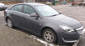 Vauxhall Insignia, 2015 (15) Grey Hatchback, Manual Diesel, 25,337 miles NO ROAD TAX