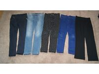 Girl Jeans size 140cm and leggings 140-146cm