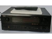 Denon AVR-3803 Black 7.1 Channel 110 Watt Receiver w Remote & Manual