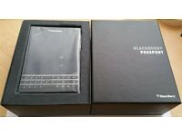 Blackberry Passport, Excellent Condition, Unlocked, Boxed with all accessoires