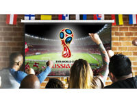 "Russia World Cup 180"" HD BIG SCREEN Projection **HIRE**"