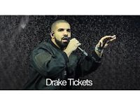 Drake 02 concert tickets golden circle 4th February