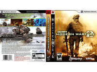 must go BY TOMORROW call of duty mordern warfare 2 for ps3 excellent condition