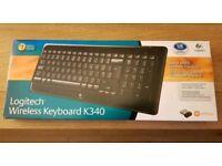 Logitech K340 wireless keyboard