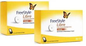 2 x Abbott Freestyle Libre Sensors