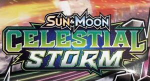Pokemon CELESTIAL STORM TCG New Release IN STOCK $4.75/pk, Booster boxes, blisters & More!