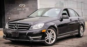2014 Mercedes-Benz C-Class Base C300 4MATIC,NAVI,ROOF,BLIND SPOT