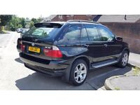 BMW X5 DIESEL SPORT BLACK WITH PRIVATE PLATE.