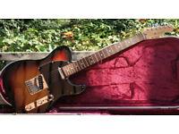 2005 USA Fender Telecaster, 3 Tone Sunburst & Flight Case