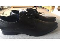 Black Men's Formal Shoes Size 12 Brand New