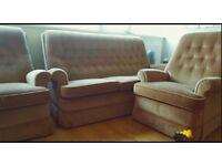 Sofa Armchair Vintage Parker Knoll