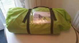 Summit 5 man 2 bedroom standing height tent 3000HH new in box (still sealed)