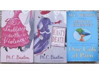 Used, M C Beaton/Marion Chesney books - Agatha Raisin, Hamish MacBeth and more for sale  Hoghton, Lancashire