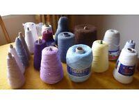 Knitting Yarn on Cones