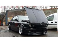 BMW 3 Series 2.5 2dr E30 325I MANUAL SPORT 1986 Convertible