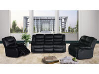 ROMMA 3 AND 2 SEATER RECLINER SOFA - CASH OR FINANCE OPTIONS