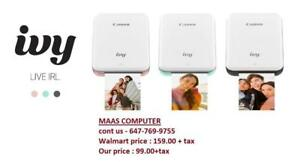 **Boxing Day Sale *** Canon ivy Mini Photo Printer, Brand New ; Sealed Pack ; Print out pictures from your phone
