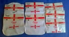 BNIP joblot 7 x Tommee Tippee England bibs