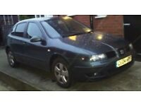 Seat Leon for Sale. Runner but better Spares or Repair