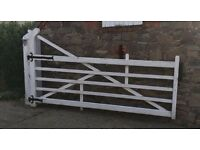 LARGE RANCH STYLE GATE FOR SALE.