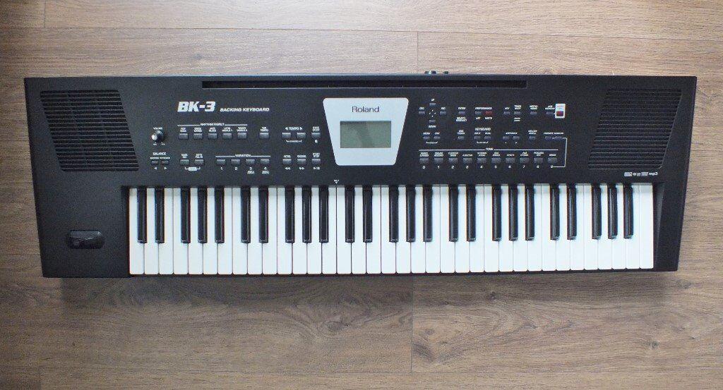 Roland BK 3 keyboard