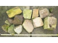 Selection of Rocks / Stones - various colours and sizes. Ideal for rockery