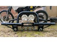 Jeep wrangler shadow tubular bumper a-bar