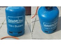 Calour gas bottle with adapter