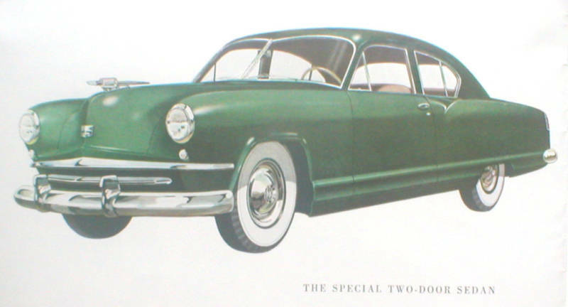 1951 KAISER Brochure: SPECIAL,DeLUXE,TRAVELER,COUPE,