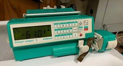 B Bruan Perfusor Compact S Syringe Pump 8714860-003