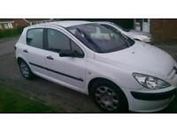 Peugeot 307 1.4 hdi £30 tax SWAP 7/8 SEATER