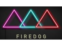 Firedog seeks experienced fun and friendly hostess/host