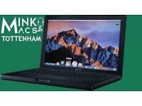 Apple Macbook Black 13.3' 2Gz 2Gb Ram 128GB SSD Logic Pro 9 GarageBand Virtual DJ Traktor Aperture