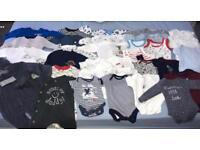 Baby Boy 1month clothes bundle