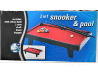 Table Top Snooker/Pool Table