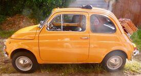 Gorgeous little 1970 Fiat 500 Lusso