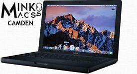 " 2Ghz 13"" Black Apple MacBook 2gb 160GB Final Cut Pro X Ableton Microsoft Office Suite Logic Pro "