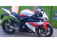 YAMAHA YZF-R125 R125 BREAKING ALL PARTS AVAILABLE 2008-2014